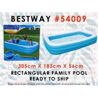 Kolam Renang Anak Besar Ukuran 3mtr BESTWAY 54009 / BLUE Rectangular F