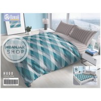 BED COVER KING SET Hawaii by California Size 180x200 HUGO Motif