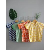 PopKids Batik Shirt - Seta, Kresna, Barata, Dino Kemeja Batik Anak