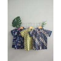 PopKids Batik Shirt - Sagara, Udawa, Baladewa Kemeja Batik Anak
