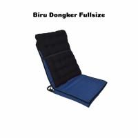 kursi lesehan / kursi lipat / kursi lantai + bantal full size