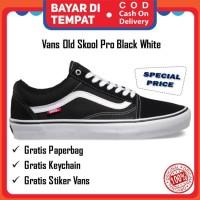 Vans Old Skool Pro Original Black White Extra Laces