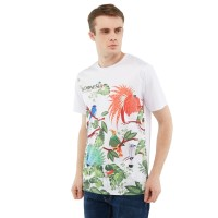 ZOLEKA Unity In Harmony T-Shirt Unisex - White Graphic Sublime