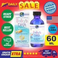 NORDIC NATURALS BABY'S DHA 60 ML VIT VITAMIN D3 D NATURAL BABY OMEGA 3