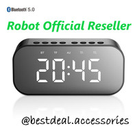 Robot RB550 Bluetooth Speaker 5.0 with LED Display & Alarm Clock