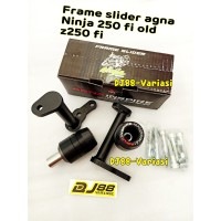 GOOD!! Frame slider agna inspire ninja 250 fi z250fi pelindung fairing