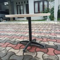 meja bundar kantor ukuran 100cm