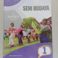 BUKU SENI BUDAYA / ERLANGGA KELAS 7 SMP