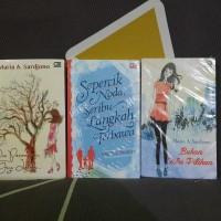 SEGEL ORIGINAL Buku Novel Maria A Sardjono