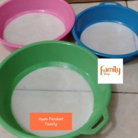 Saringan 24 cm / Ayakan Tepung Gula Halus Santan / Pengayak Plastik