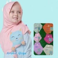 Bani Krukid Qisya New 7-8 Tahun Kerudung Bani Batuta Krukid Qisya 7-8
