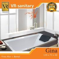 Bathtub Long GINA + Kran + Avur