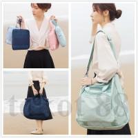 Foldable Multifunctional travel bag Tas melipat waterproof fishion