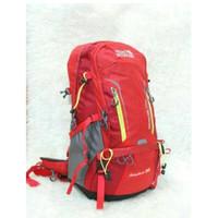 Royal Mountain Adventure 50L tas ransel gunung carrier laptop - Merah