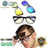 Grosir Ask Vision Kacamata 3 in 1 Magnet Lenses kaca mata Keren