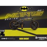 "Sepeda Lipat PACIFIC NORIS BATMAN DC Special Edition 16"""
