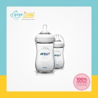 Philip Avent Natural Bottle Twin Pack 260 ml ( isi 2 ) / Botol Susu