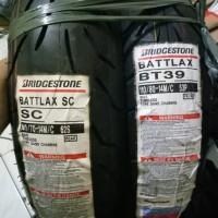 PAKETAN BAN LUAR BATTLAX SC UK 140/70-14 & BT 39 UK 110/80-14 HOND PCX