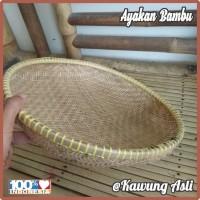 Tampah / Nampah / Nyiru Ayakan Bambu Saringan Anyaman Bambu 36cm