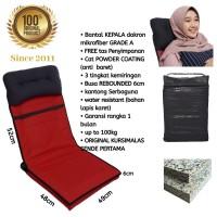 Kursi lesehan / kursi lipat / kursi lantai free bantal kepala