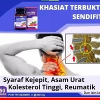 Sendifit 50 kapsul - Obat Herbal Asam Urat Rematik Pegal Linu Nyeri