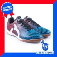 Sepatu Futsal Ortuseight FORTE HELIOS IN - Blue Ortred Black White