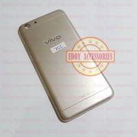 Kesing Vivo 1606 Y53 Casing Backdoor Cover Belakang Tutup Battery Gold
