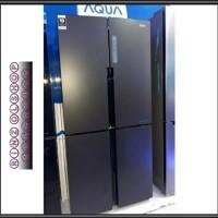 KULKAS AQUA AQR-IM525AM SIDE BY SIDE MUTI DOOR 4 PINTU INVERTER