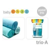 BABY CHAZ BEDONG AN Pastel TRIO Penutup Stroller Saat Menyusui Selimut