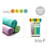 BABY CHAZ BEDONG AN TRIO Pastel Penutup Stroller Saat Menyusui Selimut