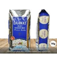 Beras Basmati Rice Dawaat 1 kg Beras India Kemasan Original