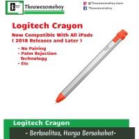Logitech Crayon iPad Air iPad 6 iPad Mini Apple Pencil No Pairing