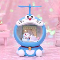 Pajangan Lampu Tidur Doraemon Baling Baling Bambu Doraemon Night Lamp