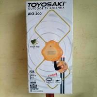 Antena Tv Indoor(Dalam) / Outdoor(Luar) Toyosaki Aio 200   Antene TV