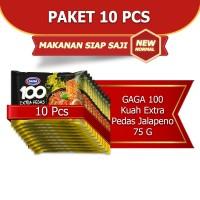 GAGA 100 Extra Pedas Kuah Jalapeno 75g (kode1)