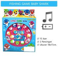 Mainan Pancingan Ikan Fishing Game | Fishing Game Baby Shark 6898