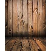 DARK WOOD Latar 90x150cm Backdrop Studio Fotografi