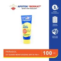 Parasol UV guard moisturizing sunscreen lotion SPF 30 PA++ 100 GR
