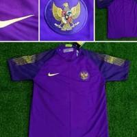 Jersey Kaos Baju Bola GK Goalkeeper Kiper Timnas Indonesia Ungu 2019