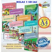 BUKU SISWA Kelas 1 SD Tematik Terpadu Kurikulum 2013 Revisi 2017 Cetak