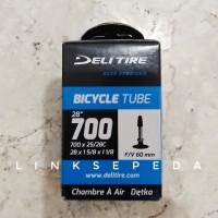 Ban Dalam 700 x 25c / 28c Sepeda Fixie Balap Roadbike Presta Swallow
