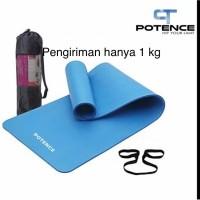 Matras Yoga NBR 10mm SPEEDS / Yoga Mat NBR 10 mm - Biru