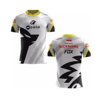 T Shirt/baju/Kaos Jersey Esport Gaming/Jersey Onic Esport art 1