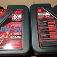 Liqui Moly Motorbike 4T Synth 10W-50 Street Race 1 L -