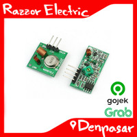 Module 433 Mhz RF Wireless TX dan RX Membuat RC untuk Arduino/ARM/MCU