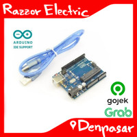 Arduino Uno R3 ATMega328P Dengan ATMega 16u2 + Kabel Denpasar Bali