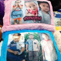 bantal custom foto 60x40