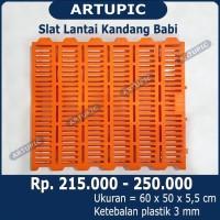 Slat Lantai Plastik Kandang Babi Artupic beli juga nipple nipel babi