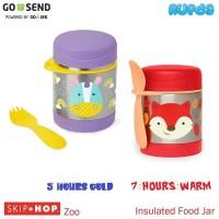 Skip Hop Zoo Insulated Food Jar Termos Makanan Bayi Hangat SkipHop