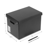 Bantex Easy Box L Black #8920 10